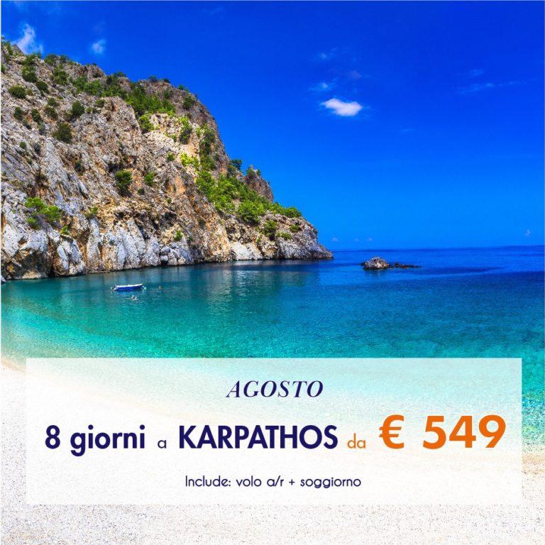 Karpathos – Grecia Agosto 2021